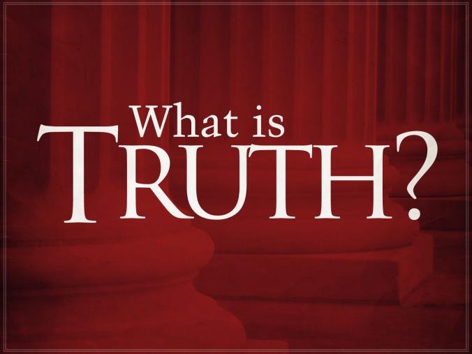 What-is-truth (Koshercaffeine.blogspot.com)